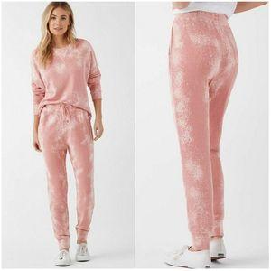 NWT SPLENDID   Sea Spray Jogger Pants Fresh Pink